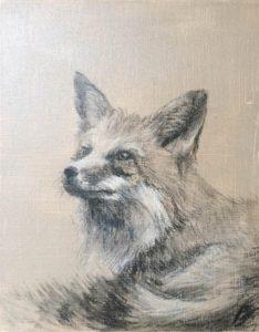 Pihenő Róka – Portré festés